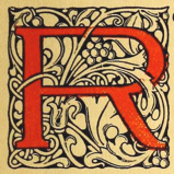 decorated initial 'R'