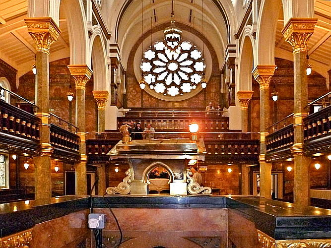 The New West End Synagogue By George Audsley 1838 1925