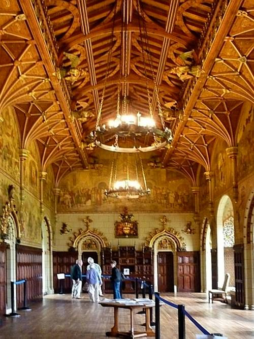 Cardiff Castle Interior Cardiff South Wales By William