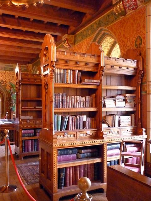 The Library Cardiff Castle Cardiff South Wales By