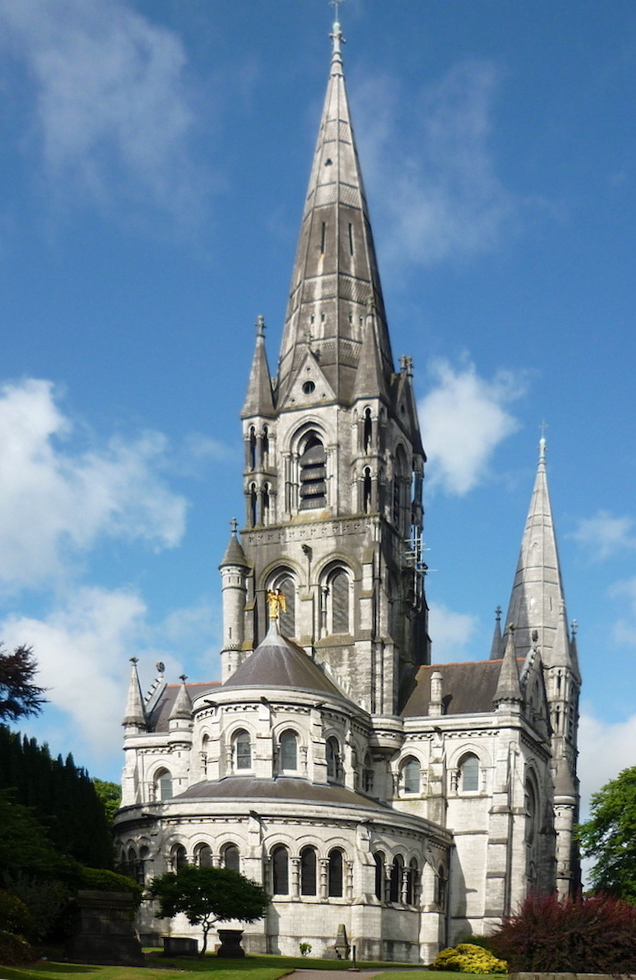 St Fin Barres Cathedral Cork By William Burges