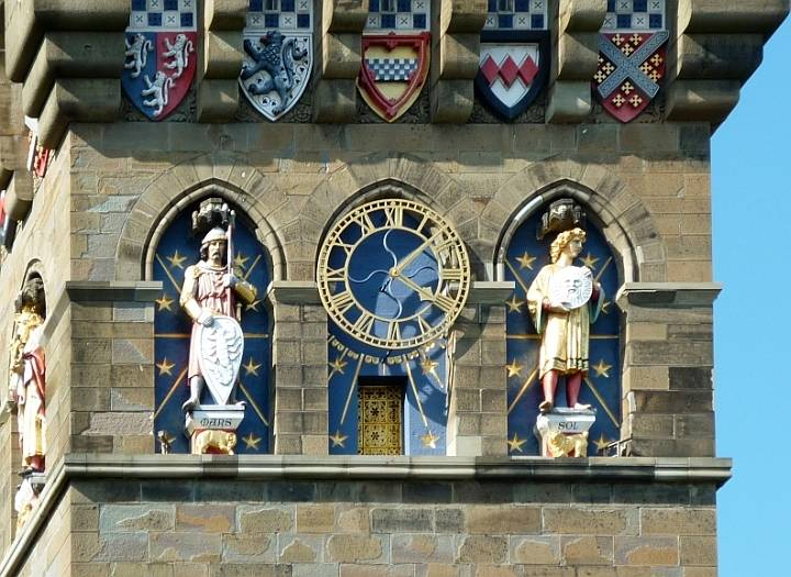 Cardiff Castle Cardiff South Wales By William Burges