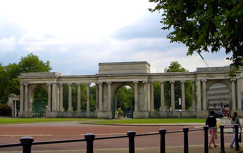 Hyde Park Screen by Decimus Bu...