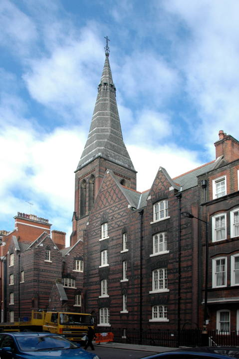 All Saints Margaret Street London By William Butterfield