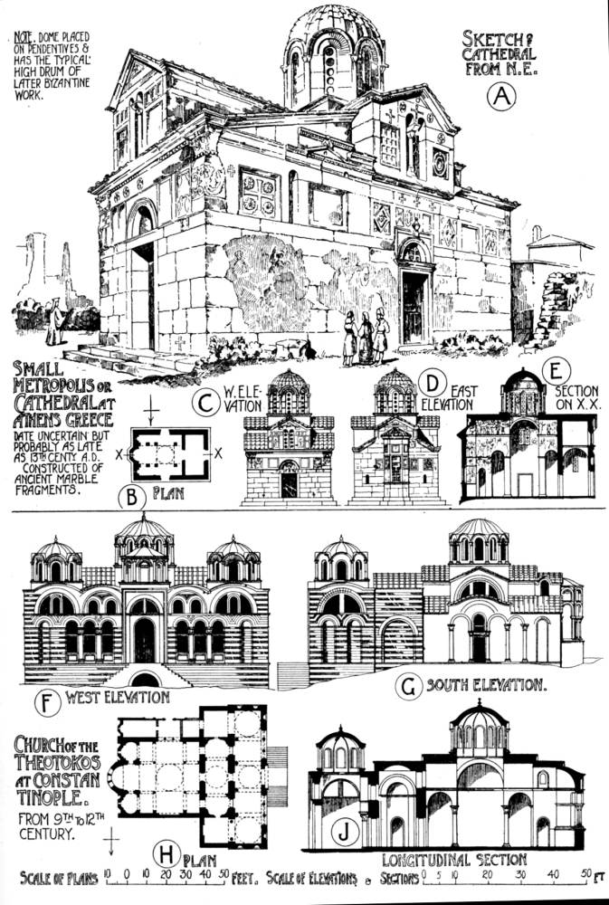 relationship of roman early christian and byzantine art architecture