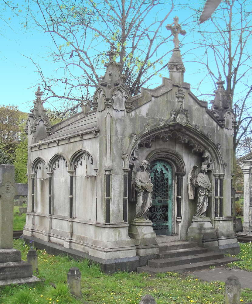 Mausoleum, James McDonald (1843-1915) in Brompton Cemetery, London