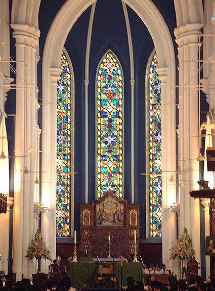 Altar And Chancel St Andrews Cathedral Singapore
