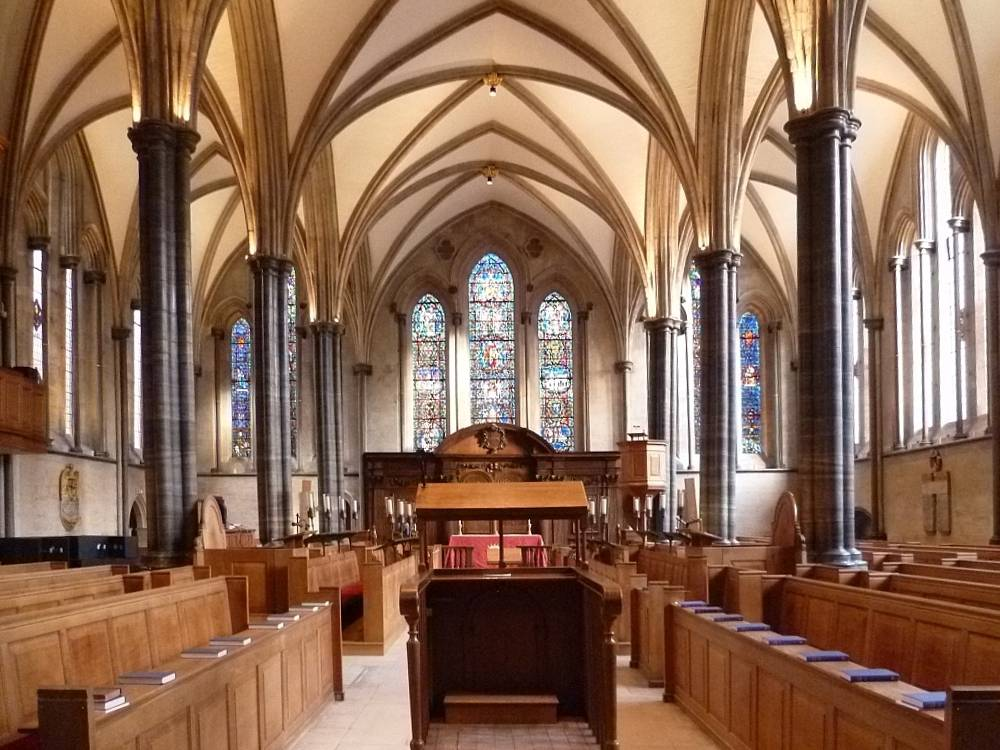 The Temple Church Temple London An Early Victorian