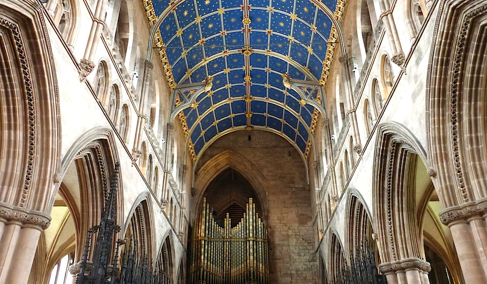 Carlisle Cathedral With Victorian Work By Ewan Christian