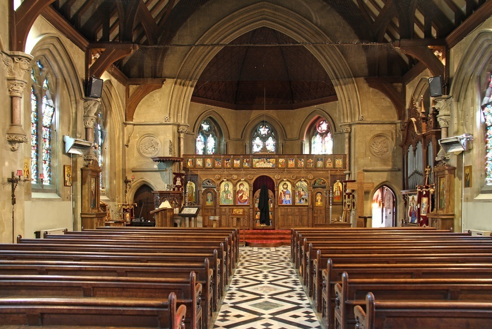 Former agapemonite church of the ark of the covenant upper clapton the interior of the church looking east publicscrutiny Images