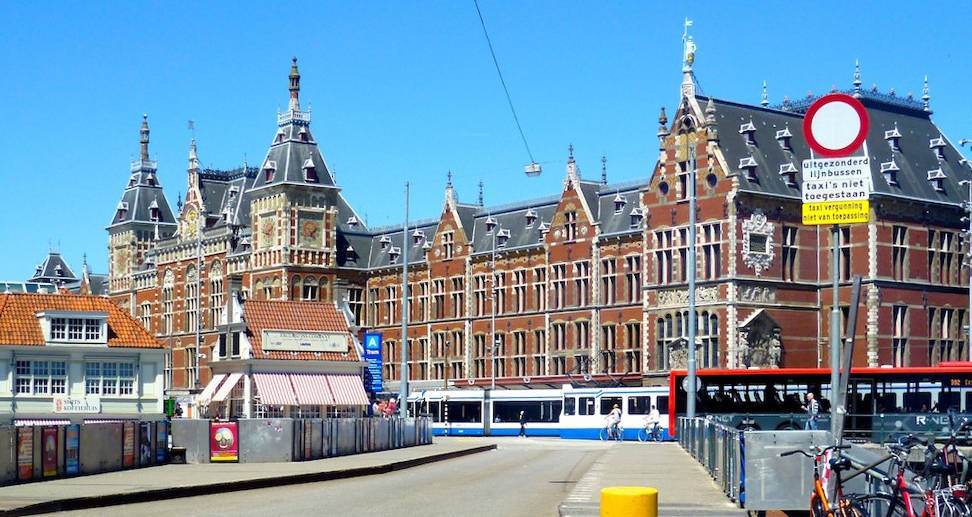 Central Station, Amsterdam, by P. J. H. Cuypers