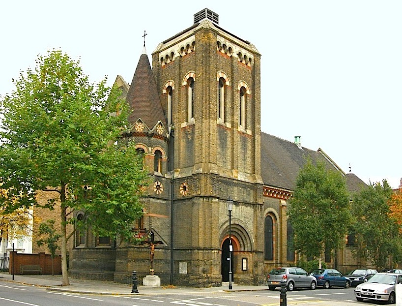 st michael and all angels ladbroke grove kensington by james edmeston jr and james stanning edmeston with a north transept added in