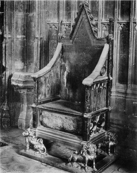 & The Coronation Chair Confessoru0027s Chapel Westminster Abbey