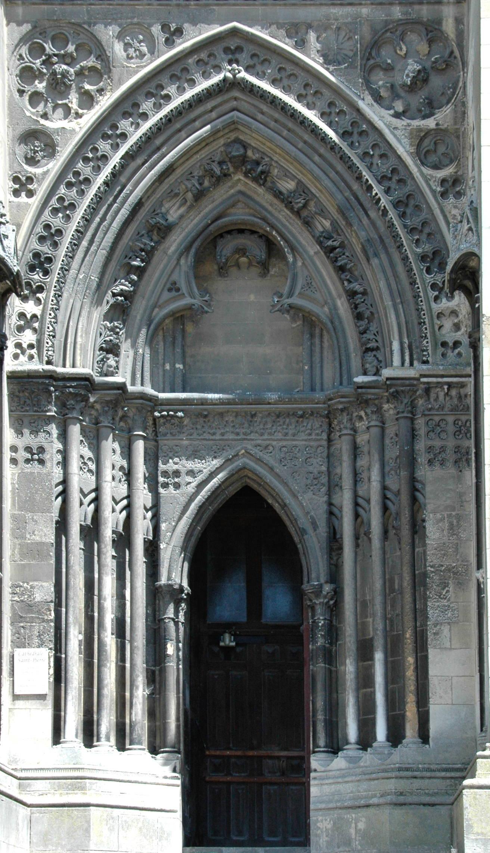 Gothic Doorways Architecture   Pezcame.Com