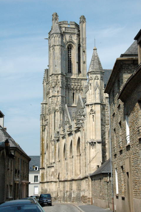 Churches about which Ruskin wrote — Cathedral of St. Lô ...