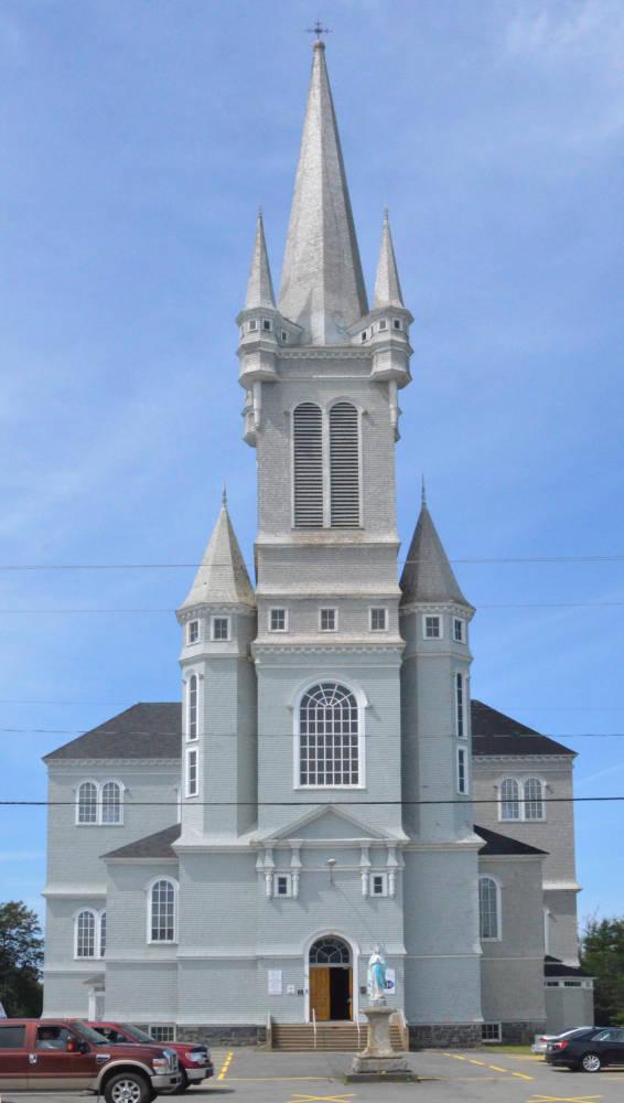 L église Sainte Marie Church Point Nova Scotia Canada 1905