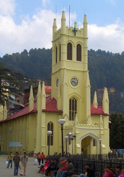 Ten churches of british india for Religious buildings in india