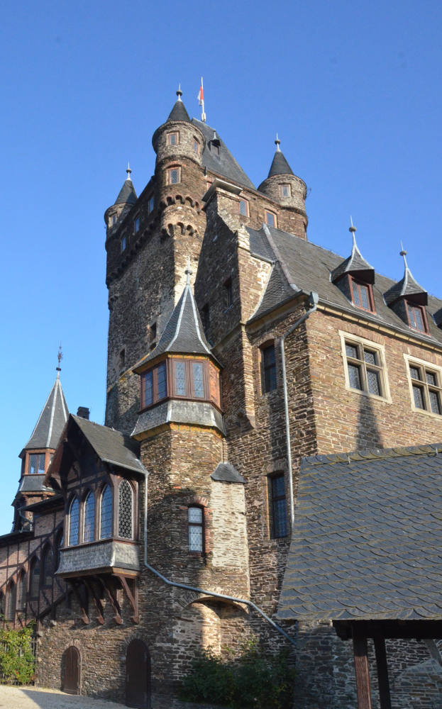 As These Photos Show Ravenes Castle Has Conical Topped Turrets Fancy Dormers And Structures That Jut Out From Walls Everywhere But It Also A Large