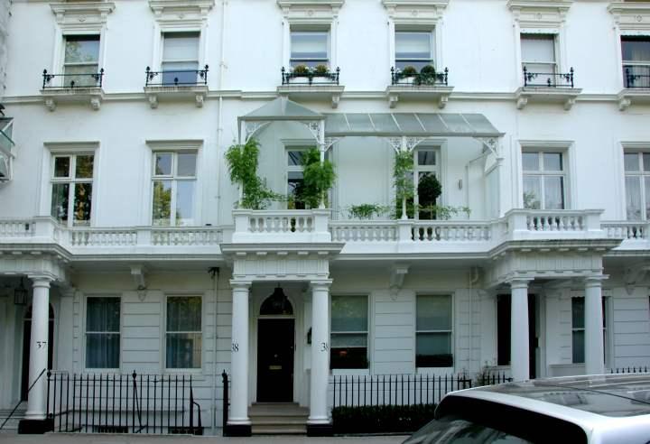 Elegant Row Houses 37 39 Cadogan Place London Sw1 Elegant
