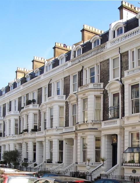 Stafford terrace kensington londres - Maison victorienne londres ...