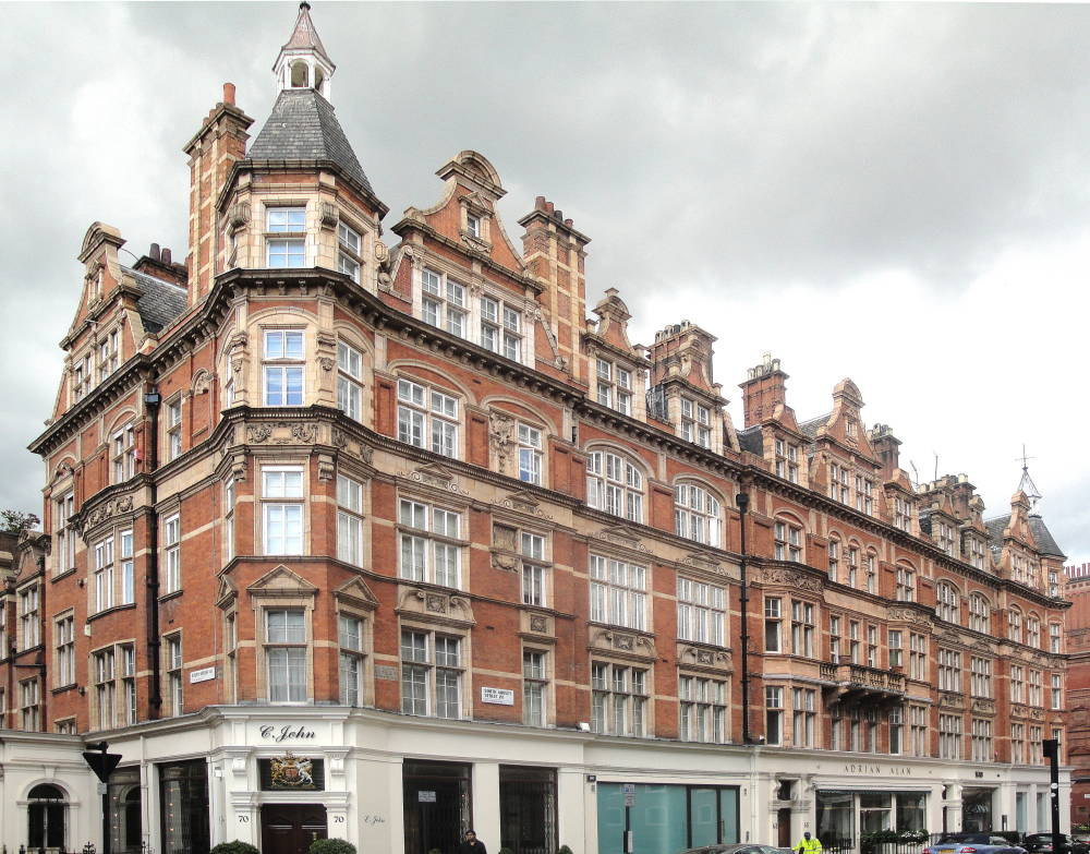 125 129 mount street mayfair london by t chatfield for 1900 architecture houses