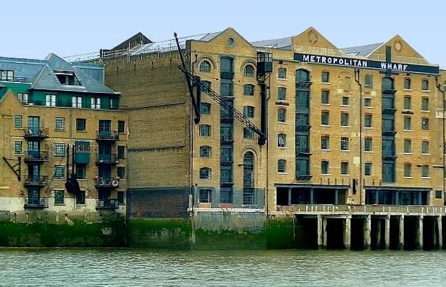 Wharf Wapping London E1 - warehouses london