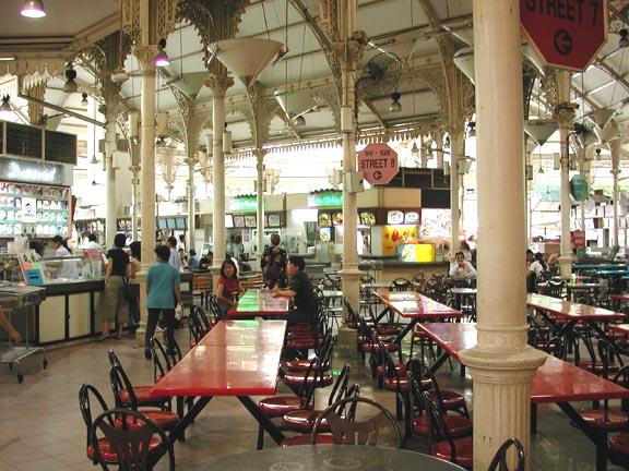 Lau Pa Sat Festival Market Singapore