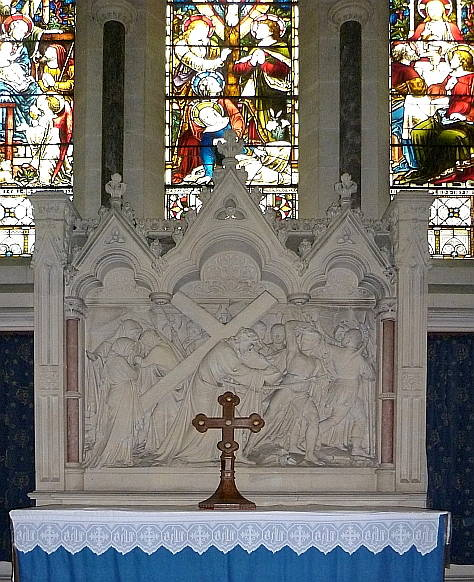 Reredos at St Mary's Church, South Tidworth