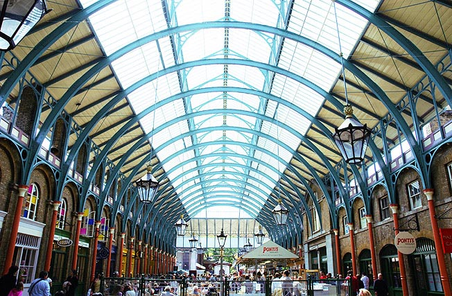 The Interior Of Covent Garden London