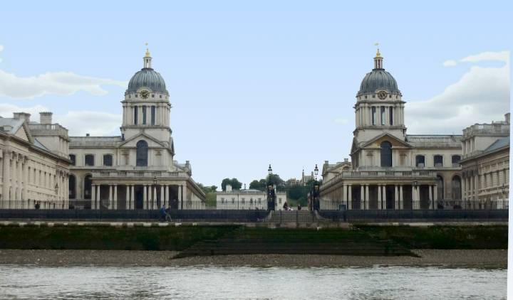 Old Royal Naval College (antiguamente el Hospital de Greenwich)