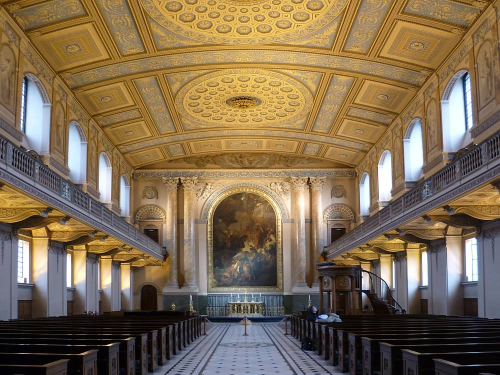 The Old Royal Naval College Greenwich And Its Environs