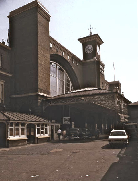 Ling's Cross Station exterior