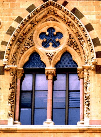 Neo-Gothic Windows, Natural History Museum, Oxford