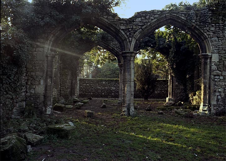 Gothic ruins Oxfordshire