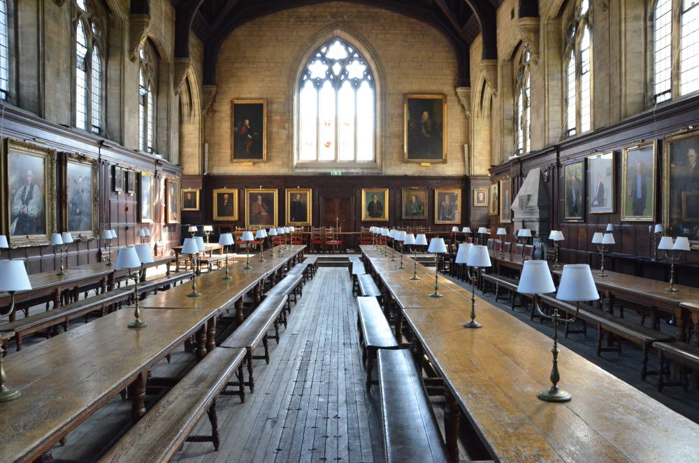 The Hall 1877 Balliol College Oxford By Alfred Waterhouse