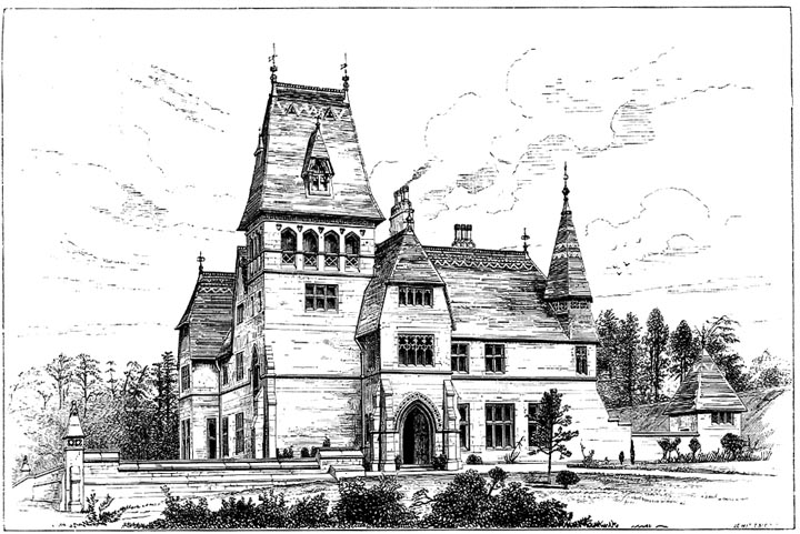 Quar Wood Gloucestershire 1857 Designed By J L Pearson