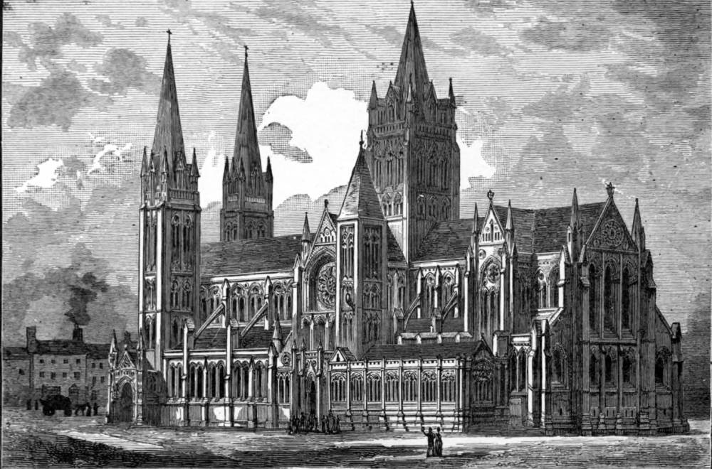 Truro Cathedral Cornwall By John Loughborough Pearson