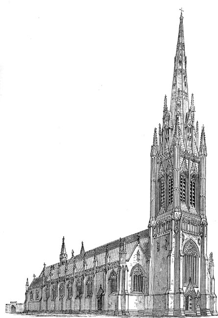 St Georges Roman Catholic Cathedral By Augustus Welby
