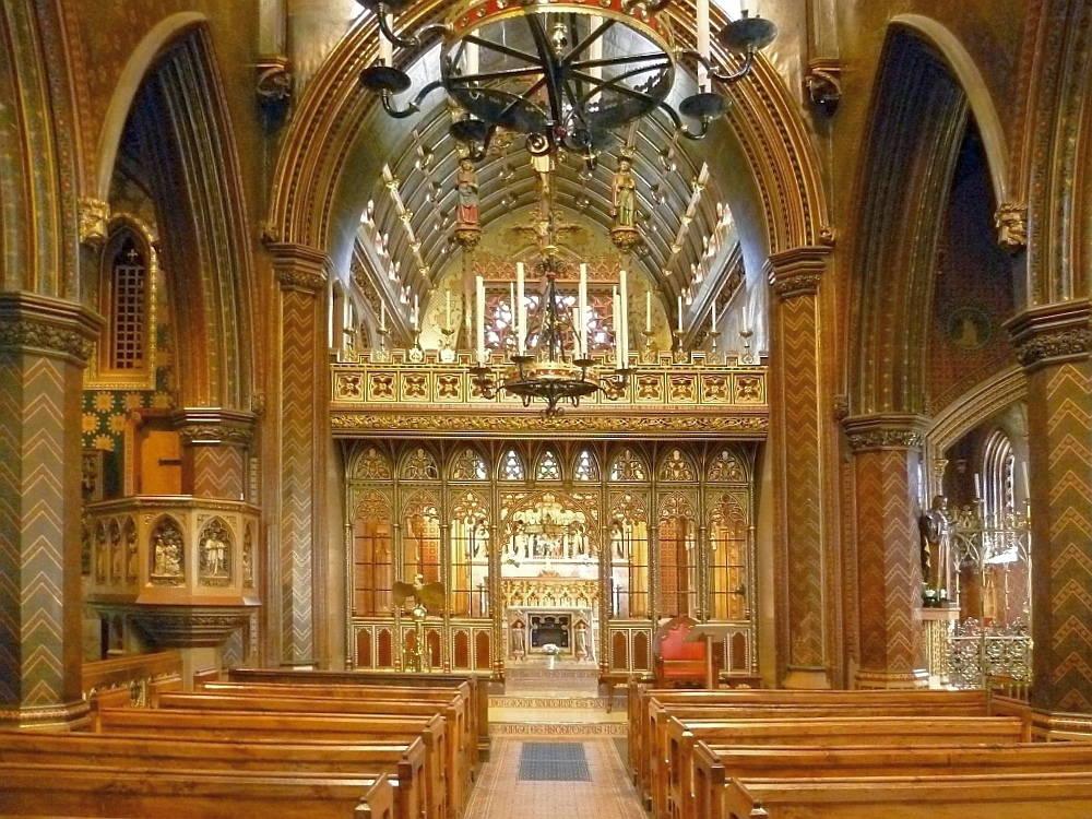 Roman catholic churches interior design joy studio for Roman interior designs