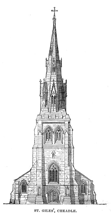 St Giles Cheadle By Augustus Welby Northmore Pugin