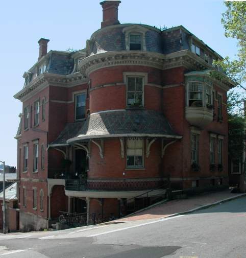 Benefit Street Providence Rhode Island