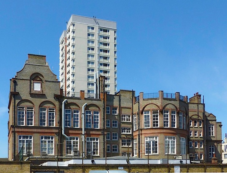 The Former Lower Chapman Street School, Shadwell, by E  R