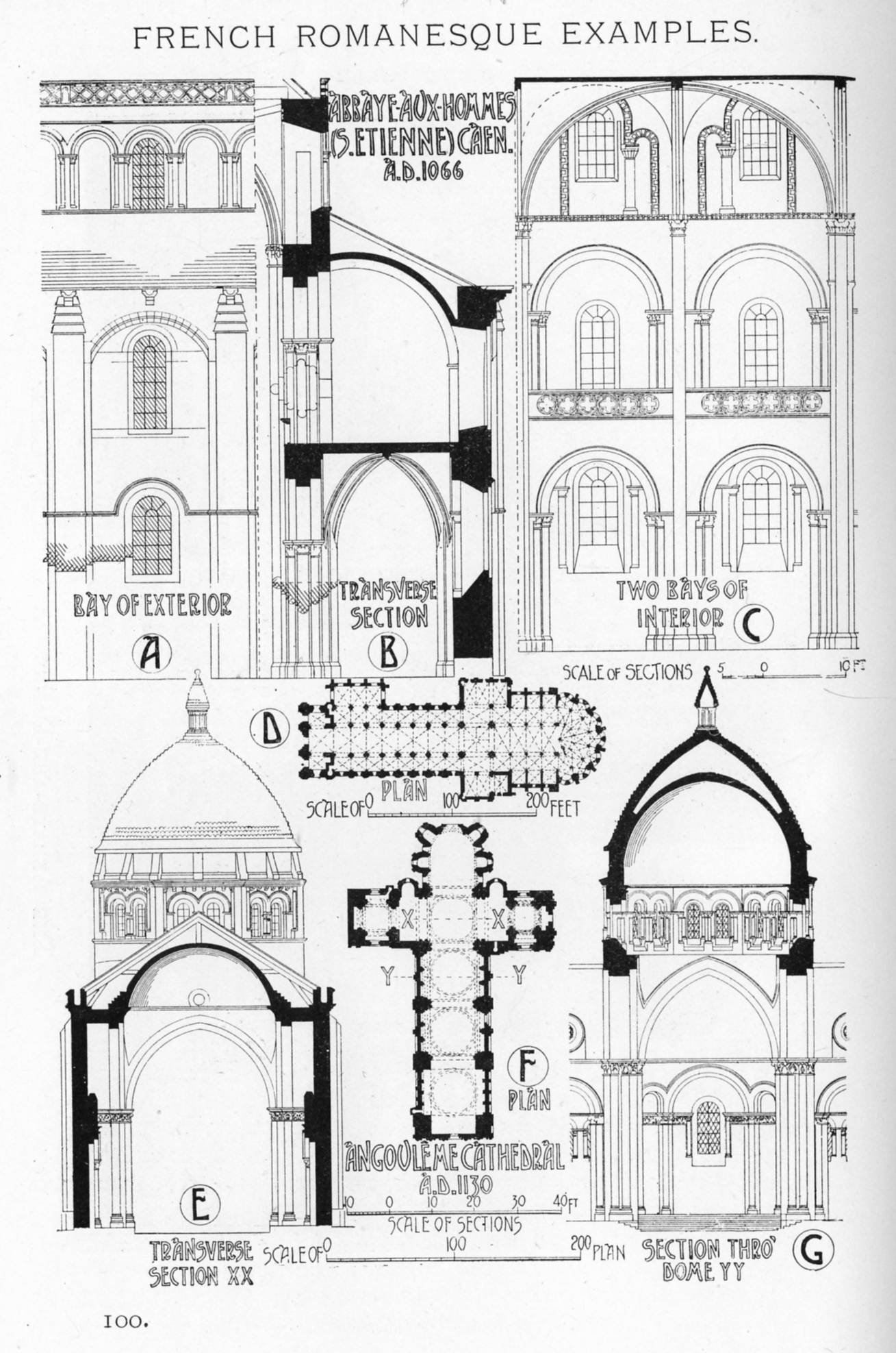 Characteristics of french romanesque architecture for French gothic house plans