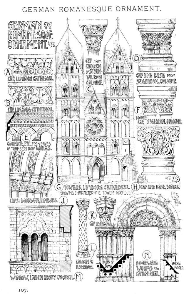 Characteristics Of Romanesque Architecture Ii
