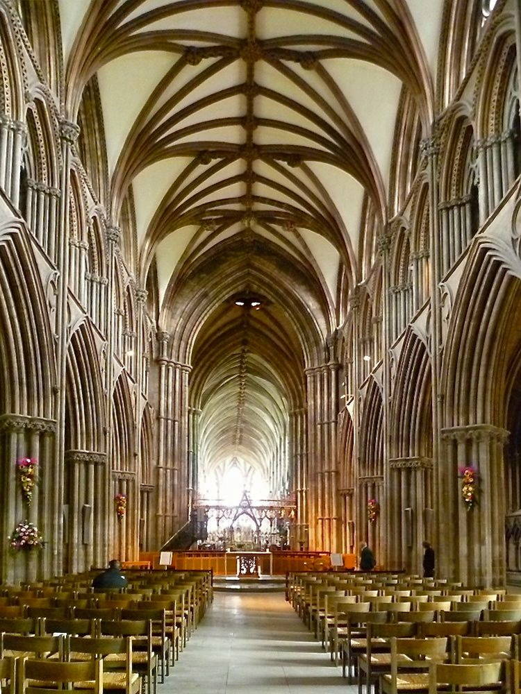 Lichfield Cathedral: Interior and Fittings