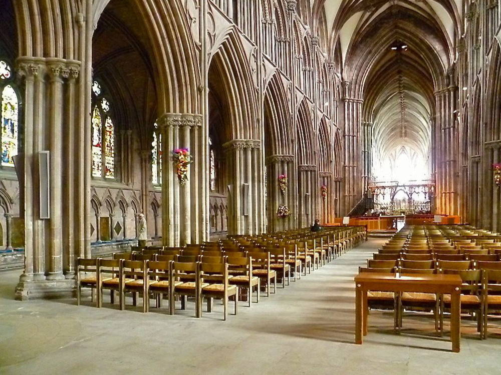 Lichfield Cathedral Interior And Fittings