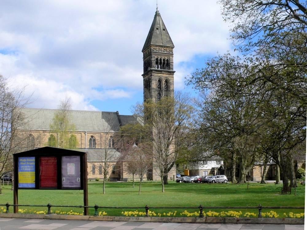 St George S Church Jesmond Newcastle By T R Spence