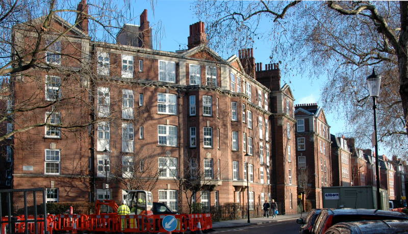 The Sutton Dwellings Chelsea London Sw7