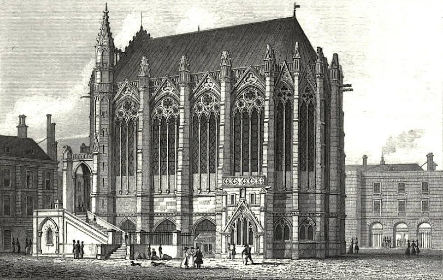 analysis of the saint chappelle The sainte-chapelle or 'holy chapel', in the courtyard of the royal palace on the Île de la cité (now part of a later administrative complex known as la.