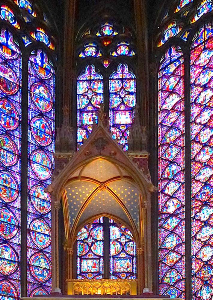 La Sainte Chapelle Paris Restored By Eug 232 Ne Emmanuel